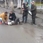 Проделки пьяного горе-водителя в Бельцах: сбил пешехода и спровоцировал ДТП (ВИДЕО)