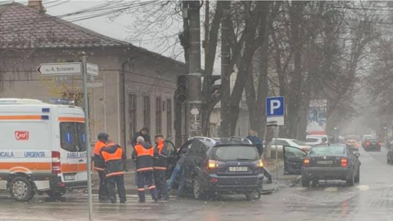 ДТП в центре столицы: в больницу доставлены двое взрослых и ребёнок