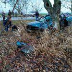 Жуткое ДТП в Рыбнице: автомобиль врезался в дерево, водитель погиб (ФОТО)