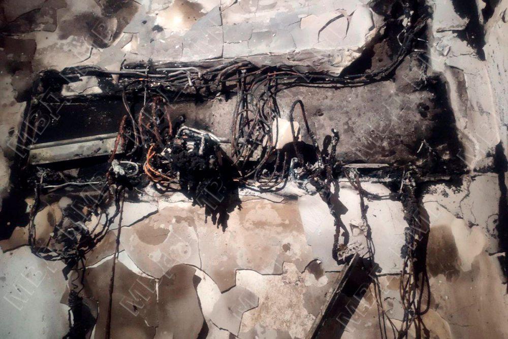 Короткое замыкание в доме рыбничанина стало причиной пожара (ФОТО)
