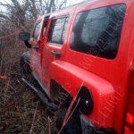 В Каменке нетрезвый водитель на внедорожнике врезался в дерево (ФОТО)