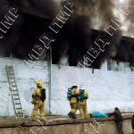 Пожар на фабрике в Рыбнице: с огнём боролись почти пять часов (ФОТО)