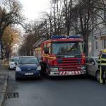 В столице безответственный водитель заблокировал проезд пожарной машине (ВИДЕО)