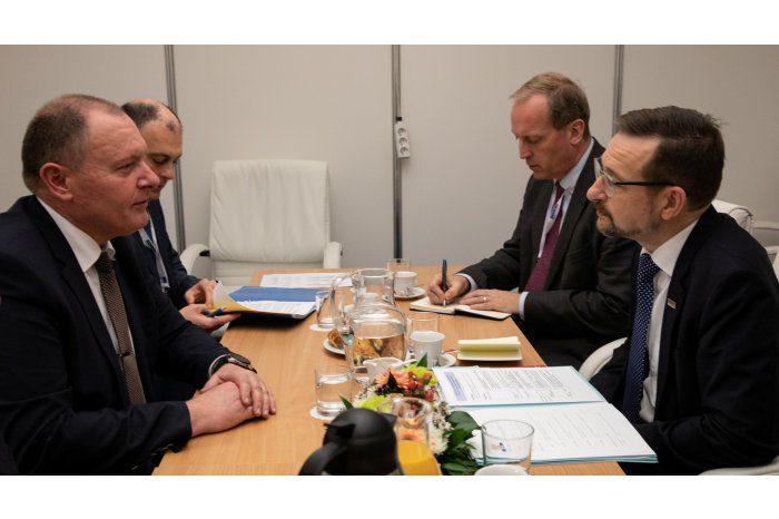 Министр иностранных дел Молдовы провел встречу с генеральным секретарем ОБСЕ