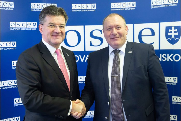 Moldova Foreign Minister met with OSCE Chairperson-in-Office
