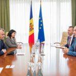 Ион Кику провел встречу с послом Литвы