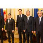 Молдавский премьер участвовал в совместном с украинским президентом заседании
