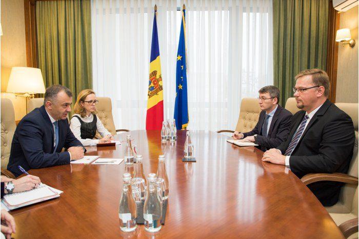Премьер-министр встретился с послом Польши в Молдове