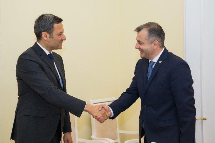 Ион Кику обсудил реформу юстиции с главой представительства Совета Европы в Кишиневе