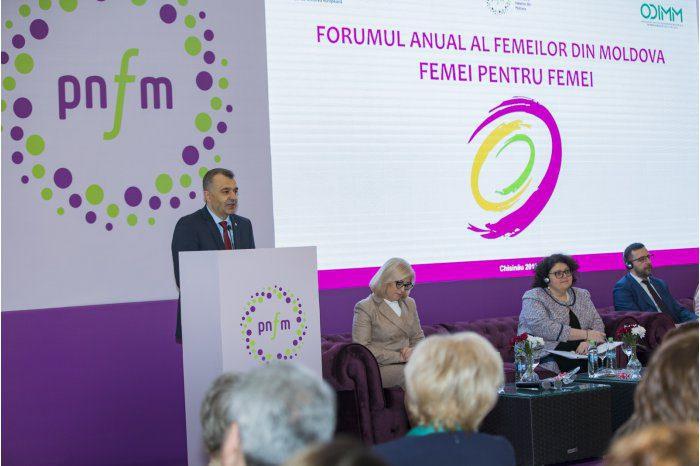 В Кишиневе прошел ежегодный форум женщин Молдовы