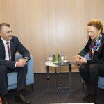 Ион Кику встретился в Страсбурге с генсекретарём Совета Европы