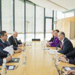 Ион Кику провёл встречу с председателем ЕСПЧ