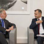 Ион Кику встретился с председателем Венецианской комиссии
