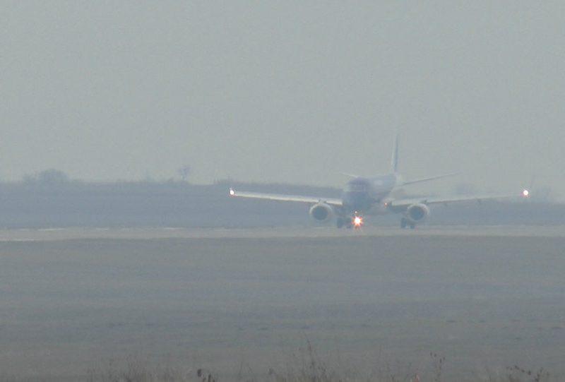Густой туман мешает нескольким рейсам прибыть вовремя (ТАБЛО)