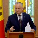 Додон: Молдове не нужны досрочные выборы и политический кризис, но мы к этому готовы (ВИДЕО)