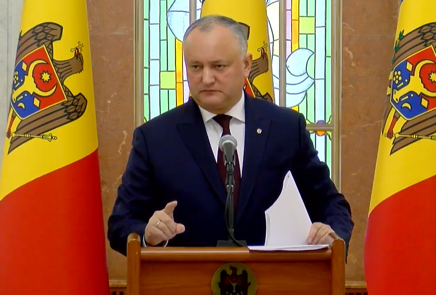 Igor Dodon on the situation with Plahotniuc: No one has lifelong immunity