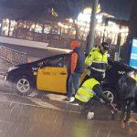 Автомобиль такси сбил пешехода на Рышкановке (ФОТО)