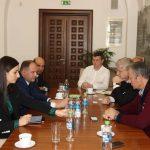 Ион Чебан и примар сектора 1 в Бухаресте обсудили проект реабилитации лицея Георге Асаки (ФОТО)