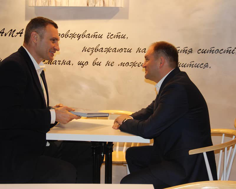 Чебан провел встречу с мэром Киева (ФОТО)