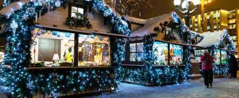 20 декабря на Ботанике откроется рождественская ярмарка