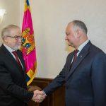 Президент провел встречу с послом Грузии в Молдове (ФОТО, ВИДЕО)