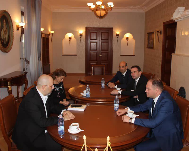 Ион Чебан обсудил с заместителем мэра Бухареста ряд инфраструктурных проектов
