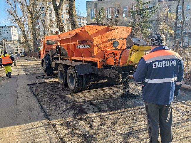 На одной из улиц Ботаники завершается ремонт дороги, инициированный Партией социалистов (ФОТО)