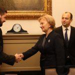 Спикер провела еще одну важную встречу в Венгрии (ФОТО)