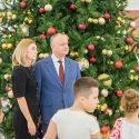Воспитанники приютов посетили президентуру и получили подарки от Игоря и Галины Додон (ВИДЕО, ФОТО)