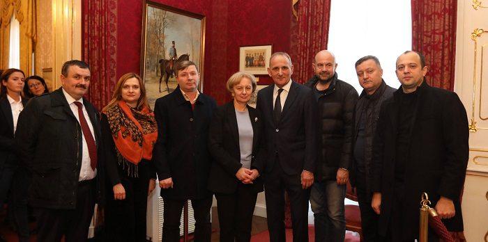 Зинаида Гречаный провела встречу с мэром венгерского города Гёдёллё (ФОТО)