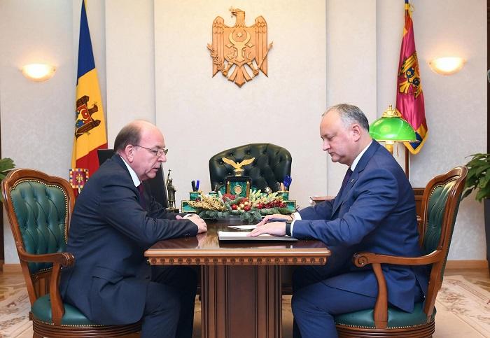 Додон примет участие в заседании Высшего Евразийского экономического совета и в неформальном саммите СНГ