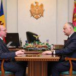 Додон провёл встречу с послом России (ФОТО, ВИДЕО)