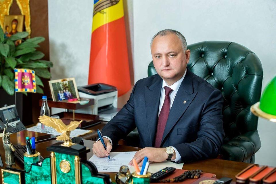 Игорь Додон остаётся уверенным лидером доверия граждан