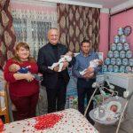 Игорь Додон навестил многодетные семьи и супругов-долгожителей в рамках визита на север страны (ФОТО, ВИДЕО)