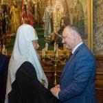 Игорь Додон пригласил Патриарха Московского и всея Руси Кирилла в Молдову (ФОТО)