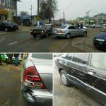 Не заметил помеху: в Дубоссарах невнимательный водитель задел чужое авто
