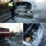 У жителя Бендер на ходу загорелось авто