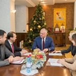 Президент встретился с башканом и депутатами, представляющими в парламенте Гагаузию (ФОТО)