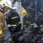 Замкнула проводка: у тираспольчанина на ходу загорелось авто (ФОТО)