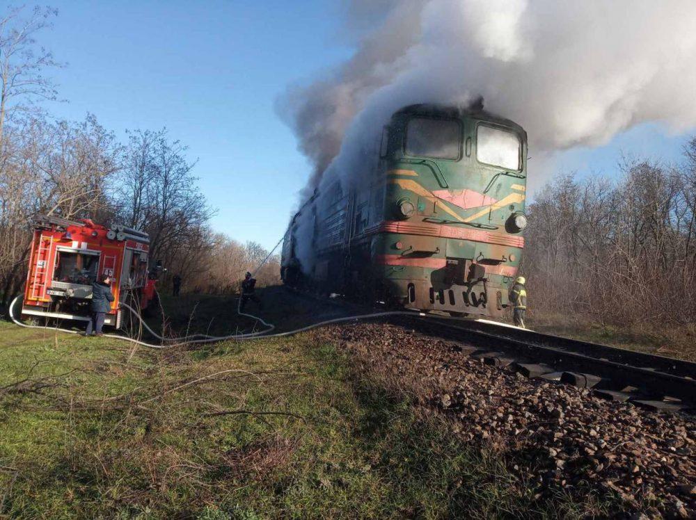 В Гагаузии пожарные потушили загоревшийся поезд с зерном (ФОТО, ВИДЕО)