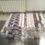 Молдаванин пытался провезти в чемодане контрабандные сигареты
