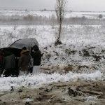 В Резинском районе перевернулся автомобиль (ФОТО)