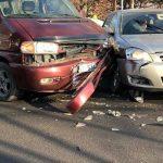 ДТП на Ботанике: два автомобиля сильно повреждены