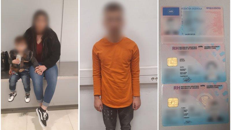 Семью иностранцев с поддельными паспортами задержали в аэропорту