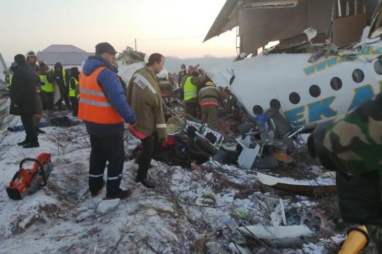 Игорь Додон направил соболезнования президенту Казахстана в связи с авиакатастрофой