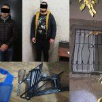 Взломали оконную решётку и залезли в чужой дом: в столице задержали пару домушников (ВИДЕО)
