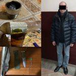 Столичные полицейские задержали мужчину, организовавшего в своей квартире наркопритон (ВИДЕО)