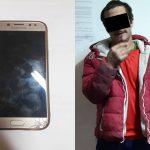 Напал на прохожую и отобрал мобильный телефон: злоумышленника задержали (ВИДЕО)