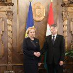 Зинаида Гречаный встретилась с председателем Национального собрания Венгрии