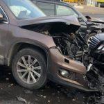 Цепное ДТП на Старой Почте: столкнулись три автомобиля (ФОТО)